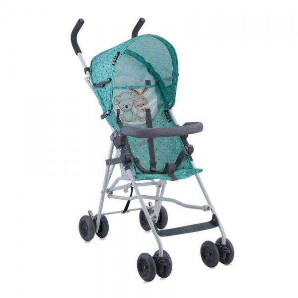 Бебешка количка Light Green&Grey Friends