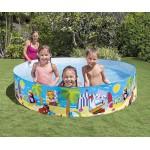 Intex Детски басейн с твърд борд 244x46см