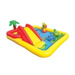 Intex Надуваем център за игра с пързалка Oкеан