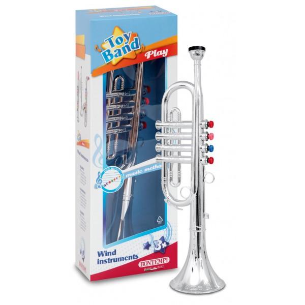 Детски тромпет с 4 клавиша