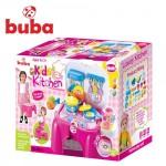 Kids Kitchen преносима кухня розова