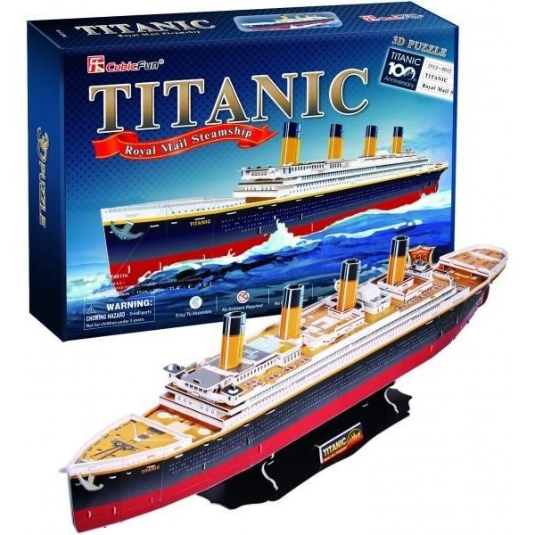 3D Пъзел Кораб Titanic