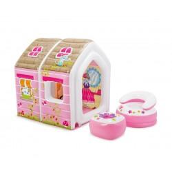Интекс Надуваема къщичка за игра за принцеси