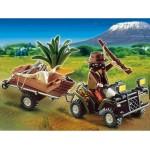 Плеймобил Рейджър с кола и ремарке