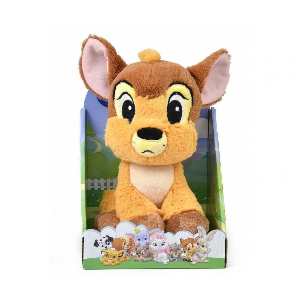 Плюшена играчка Бамби 25 см