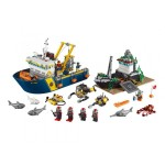 Лего Сити Дълбоководен изследователски кораб