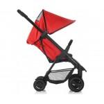 Комбинирана количка I'Coo Acrobat Fishbone Red