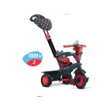 Smart Trike Детска триколка 4 в 1 Boutique червена