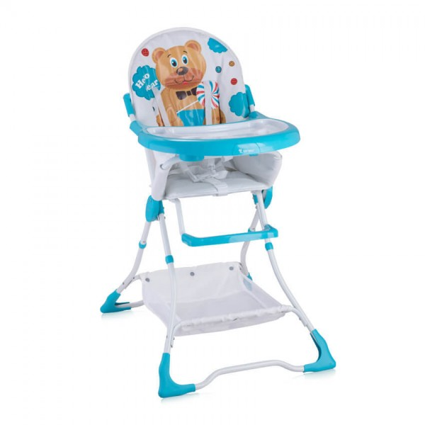Стол за хранене Bravo Blue Hello Bear