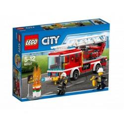 Лего сити пожарникарски камион със стълба