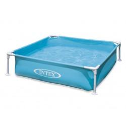 Мини сглобяем басейн син