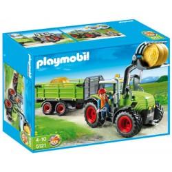 Плеймобил Трактор с ремарке