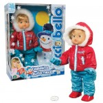 Cicciobello Пълзяща кукла със зимни дрехи