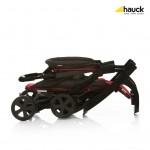 Лятна количка Shopper Easyfold Black Red