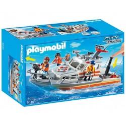 Плеймобил моторна спасителна лодка