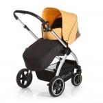 Детска количка Priya TrioSet Caviar/Banana