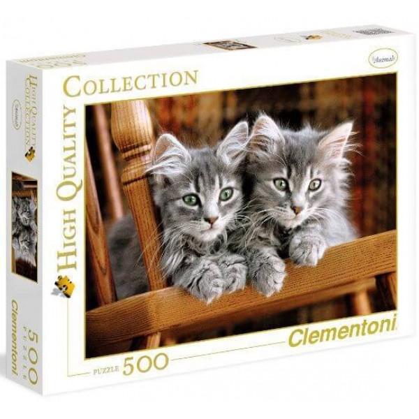 Clementoni 500ч. Пъзел Котета