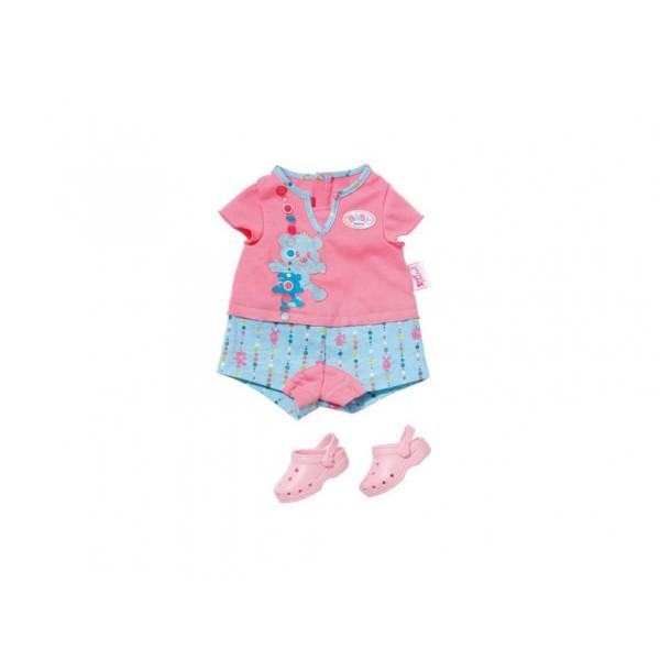 Бейби Борн Пижама с пантофки за сън