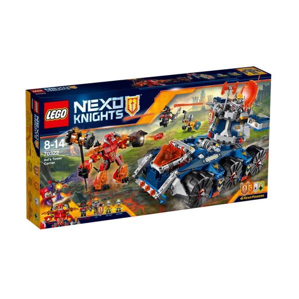 Лего нексо Превозвачът с кули на Аксел
