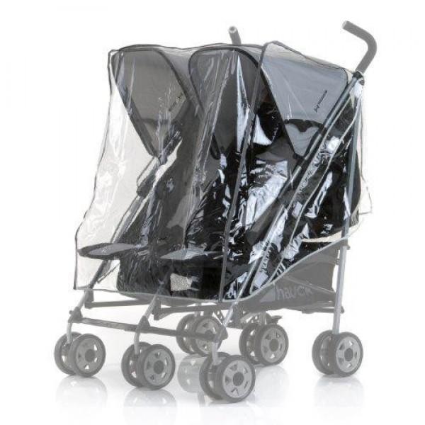 Hauck Дъждобрани за количка за близнаци