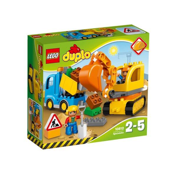 Лего Дупло Камион и екскаватор с вериги