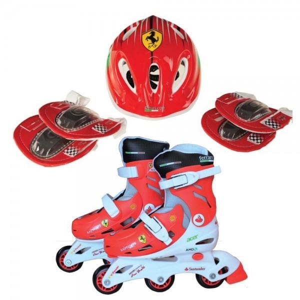 Ferrari Ролери, каска, протектори 31-34
