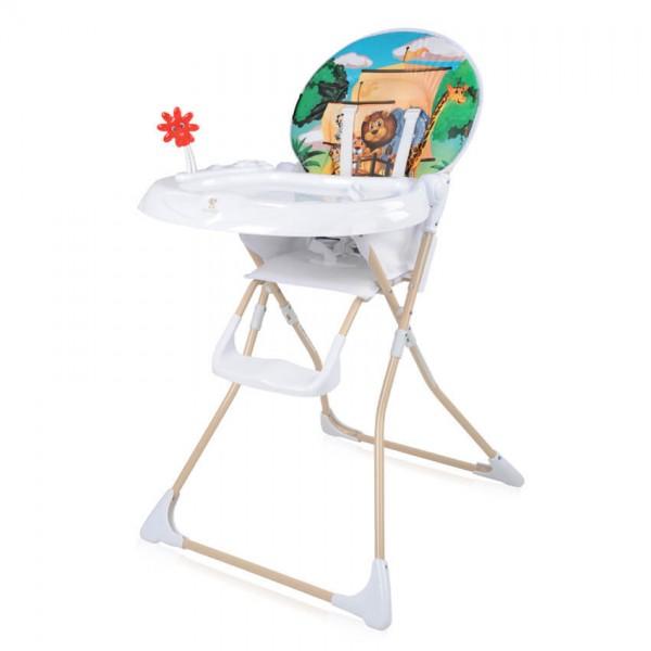 Столче за хранене JOLLY Beige Adventure