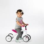 Quadie играчка за яздене розова