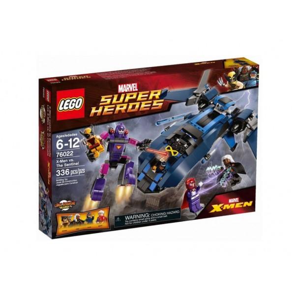 Лего Супер Хироус Х-Мен срещу Сентинел