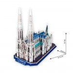 3D Пъзел St.Patrick's Cathedral
